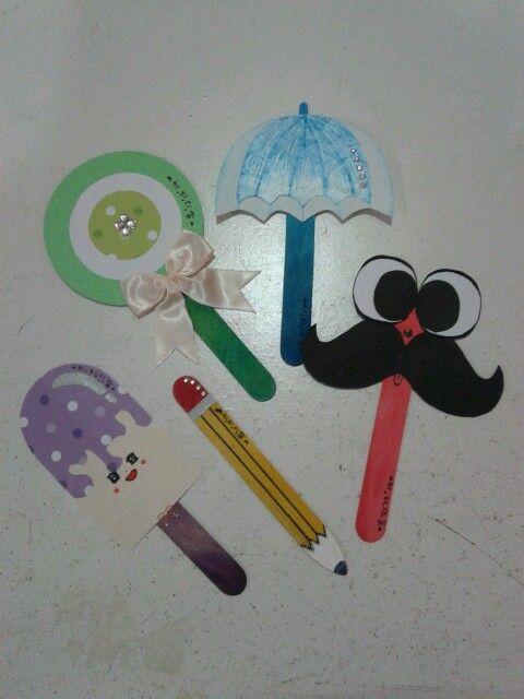 Ice Cream Stick Bookmarks My Lovely Works 3 Ice Cream Stick