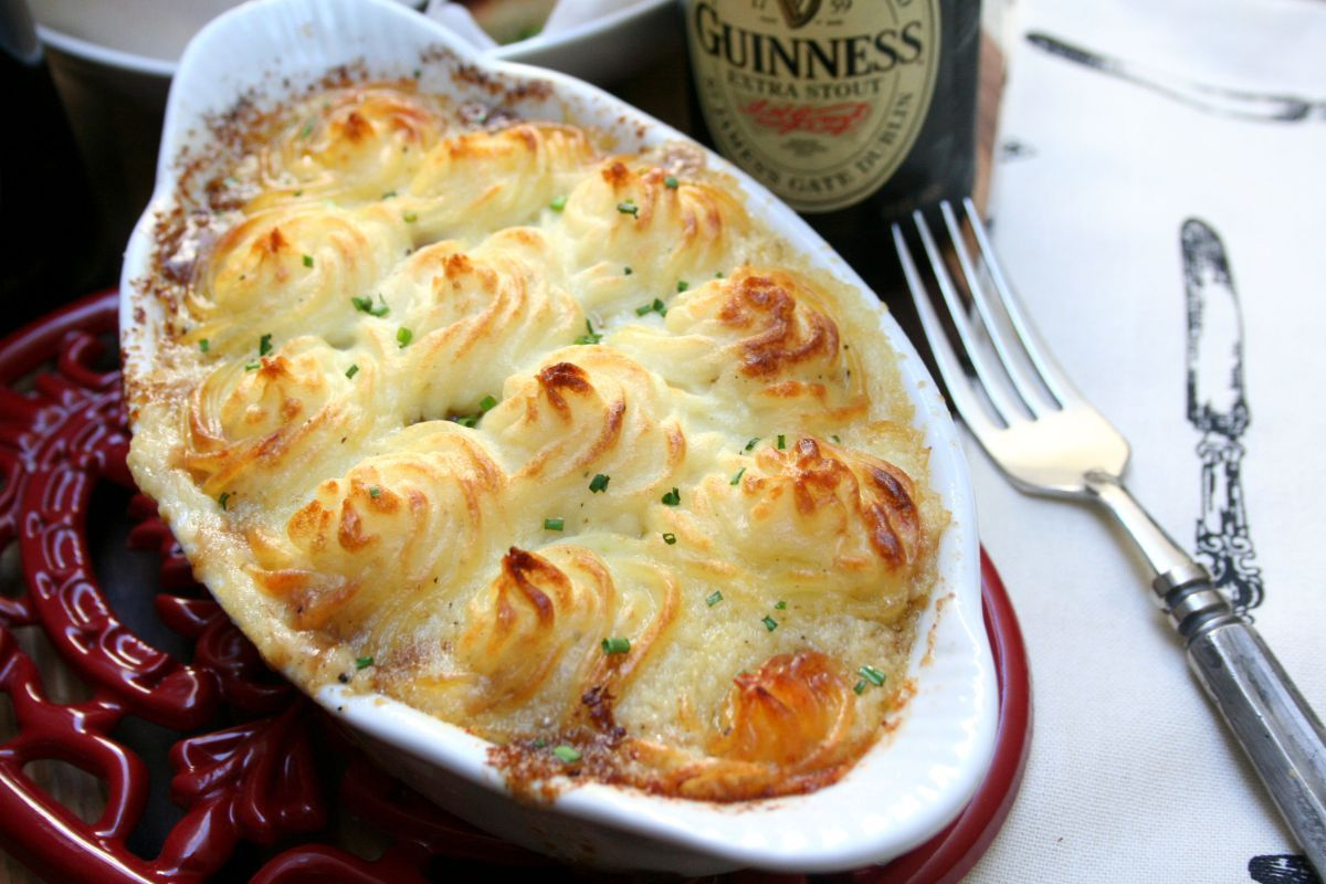Braised Short Rib Shepard's Pie with Guinness Gravy ...