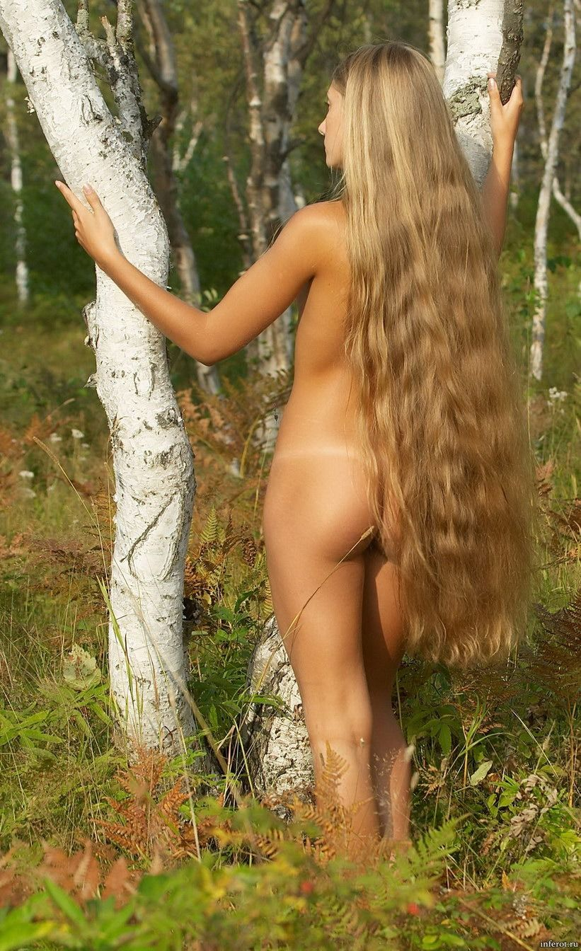 секс девушка с длинной косой и голой жопой сейчас