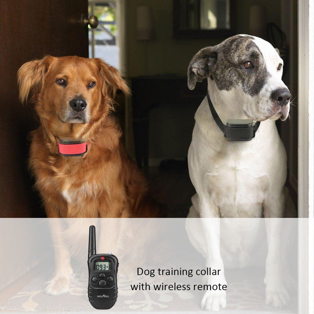 Wolfwill 330 Yards Remote Dog Training Collar
