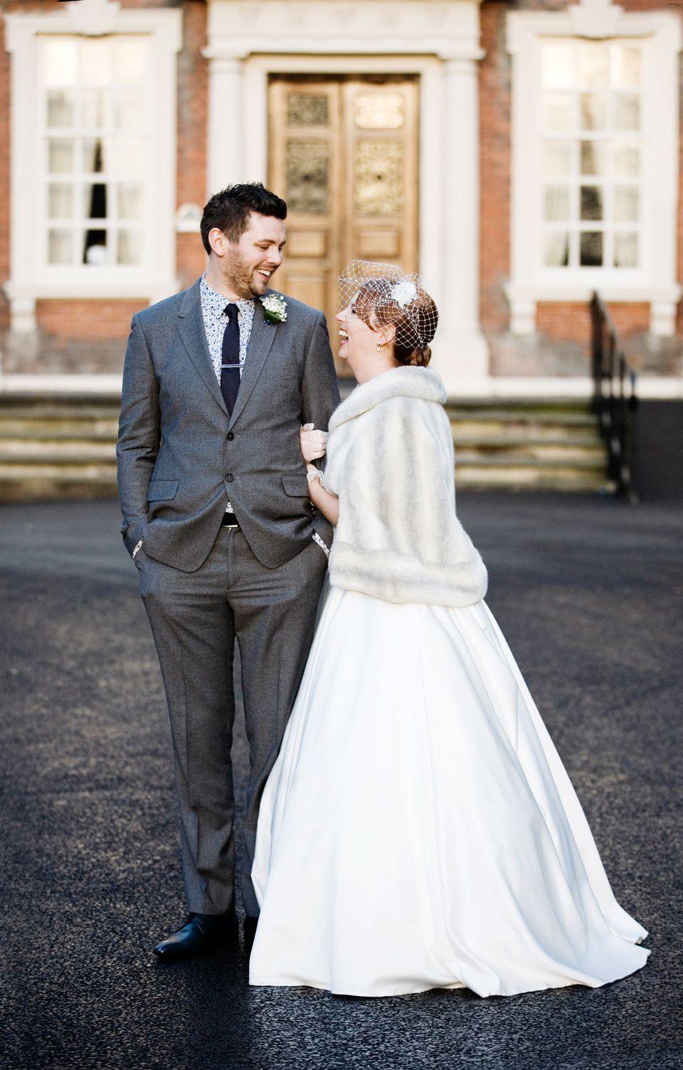 An Elegant Audrey Hepburn 50 S Inspired Winter Wedding