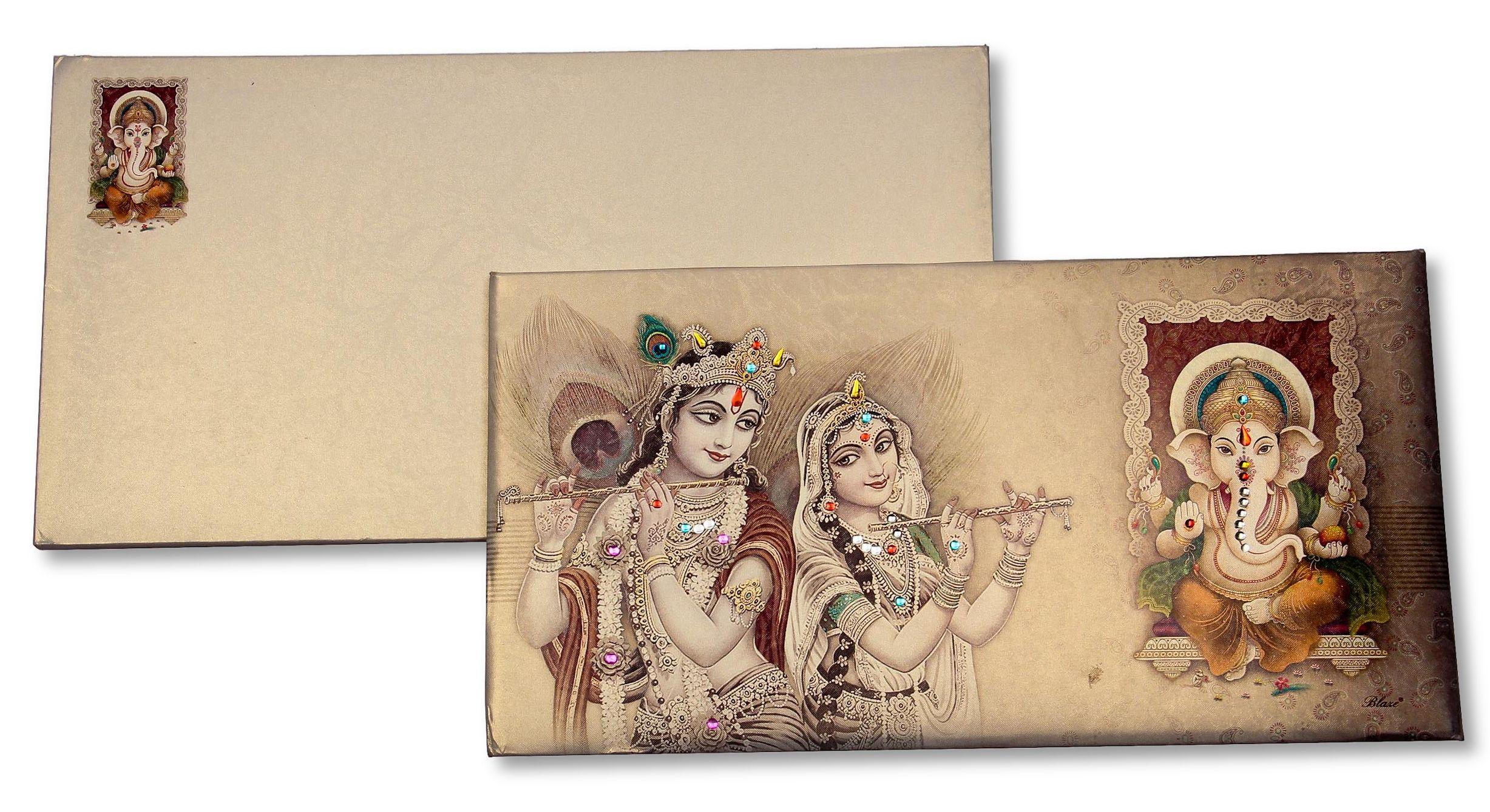 Premium Hindu Wedding Invitation Cards Prabhat Mumbai