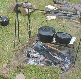 outdoor cooking pit ideas | Fire Pit Cooking Equipment | Grilling ...
