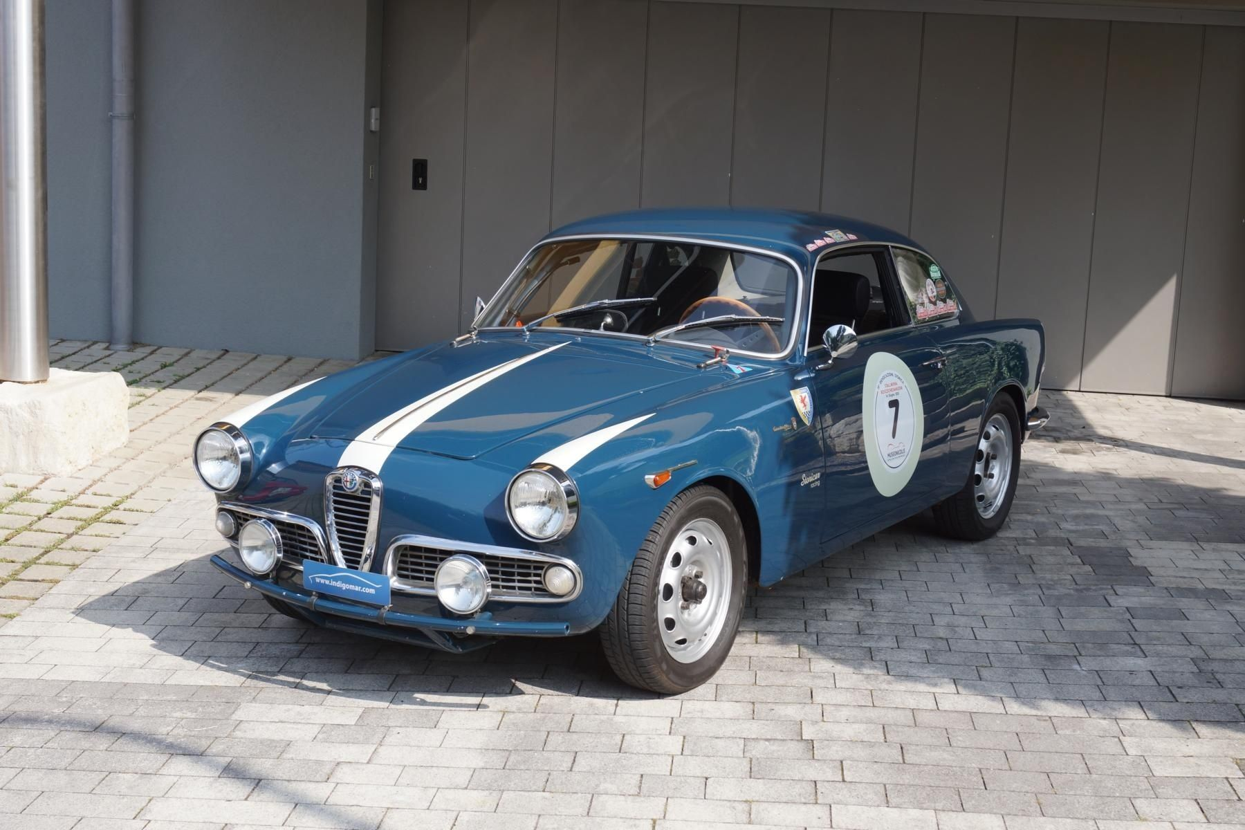 1961 alfa romeo giulietta - sprint - rally | classic driver market