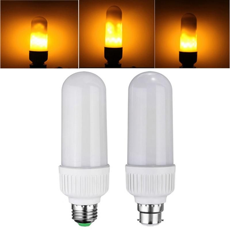 Flickering Flame Fire Led Light Bulb Led Light Bulbs Light Bulb Candle Led Light Bulb