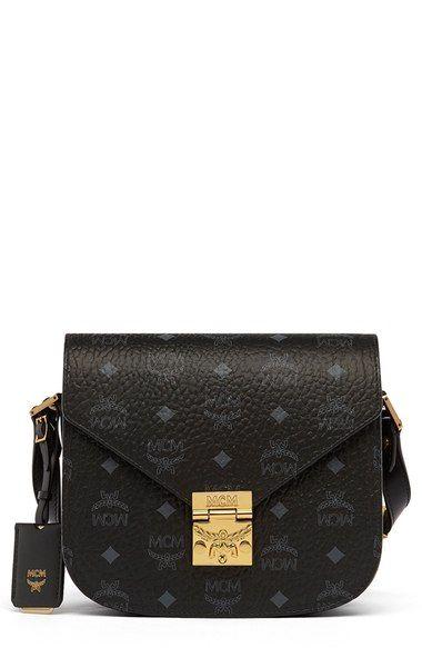 852c820e3e MCM  Small Patricia - Visetos  Coated Canvas Crossbody Bag.  mcm  bags   shoulder bags  leather  canvas  crossbody