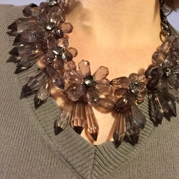 Short edgy statement necklace Good condition. Worn once. Black, edgy statement necklace. Jewelry Necklaces