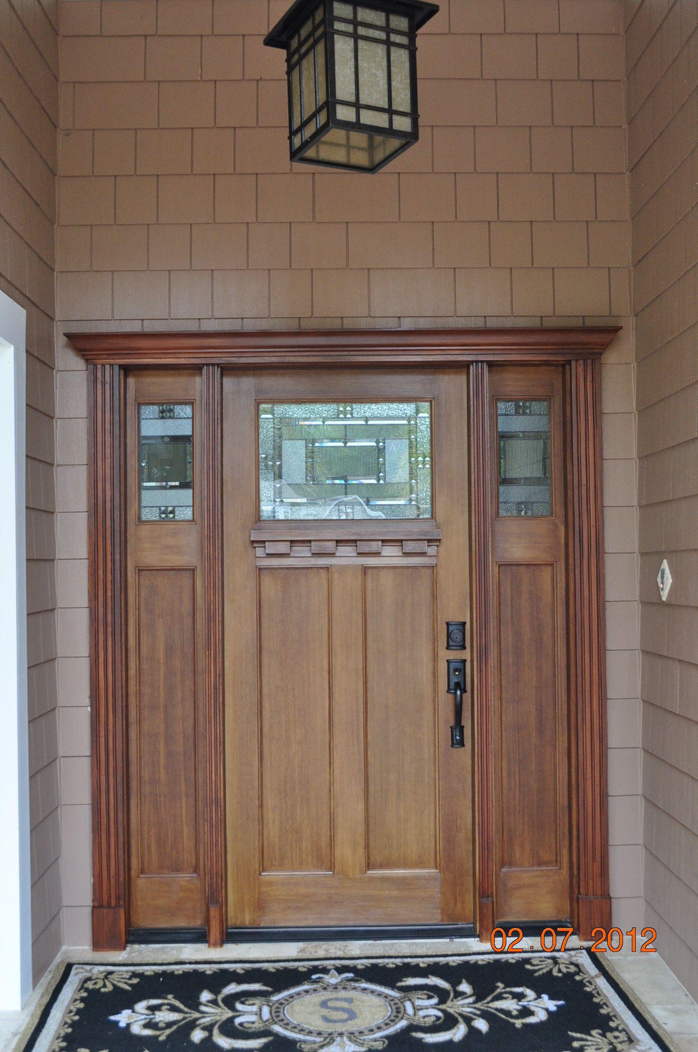Entryway Plast Pro Fiberglass Door With Plast Pro Metropolis Glass And  Matching Side