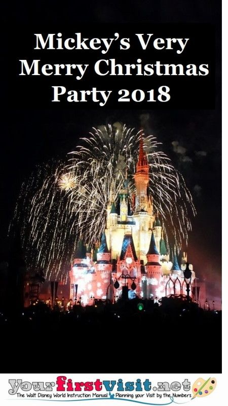 Review The 2018 Edition of Mickey\u0027s Very Merry Christmas Party