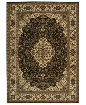 "Nourison Area Rug, Persian Arts BD02 Chocolate 7' 9"" x 10' 10"""