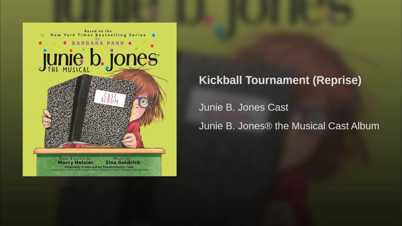 Kickball Tournament Reprise Barbara Park