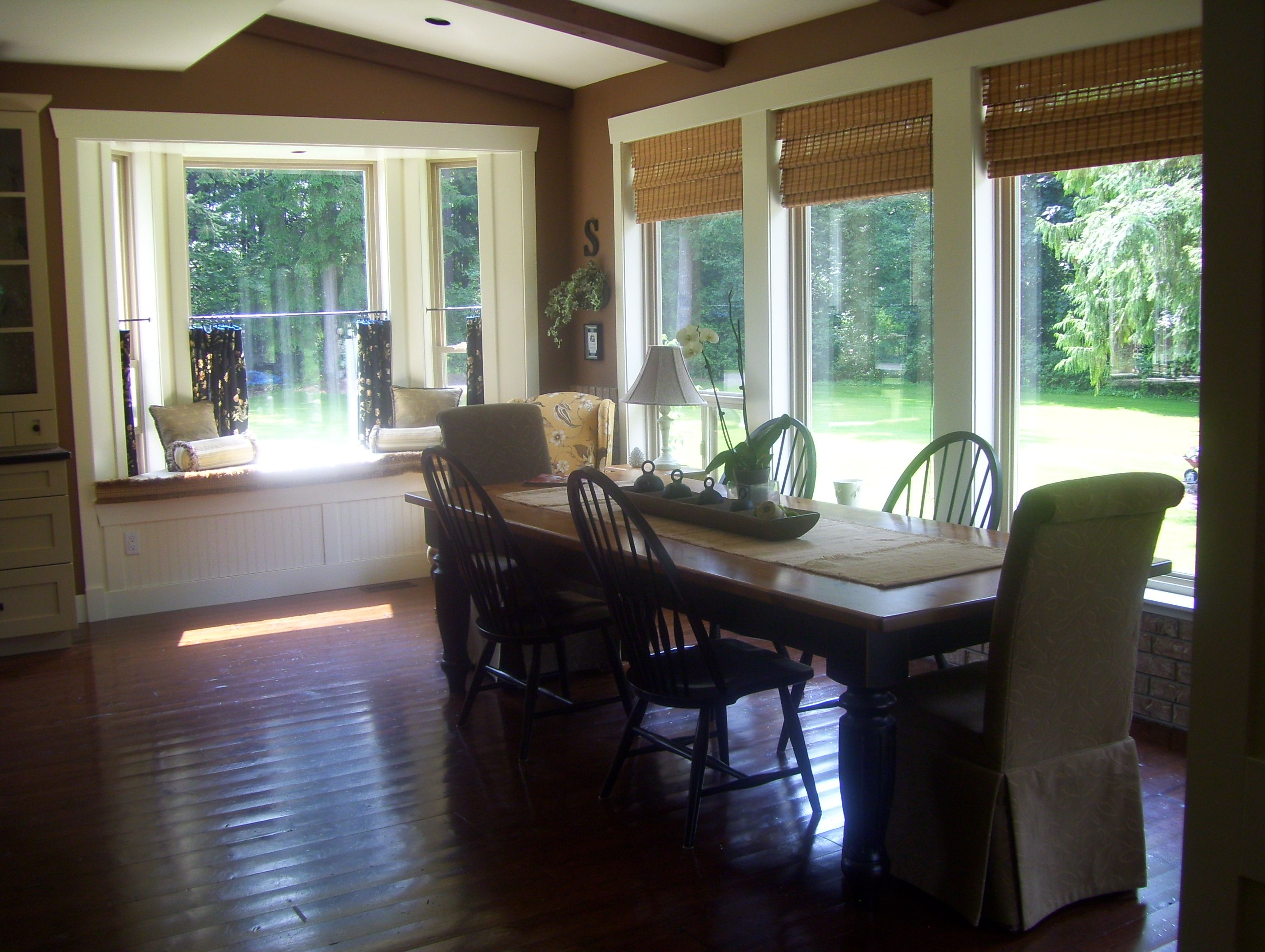 Kitchen eating area we have no formal dining room Maplecroft