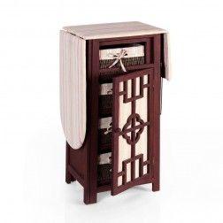 Mueble plancha madera marr n muebles para planchar en tu tienda muebles y decoracion - Mueble de planchar ...