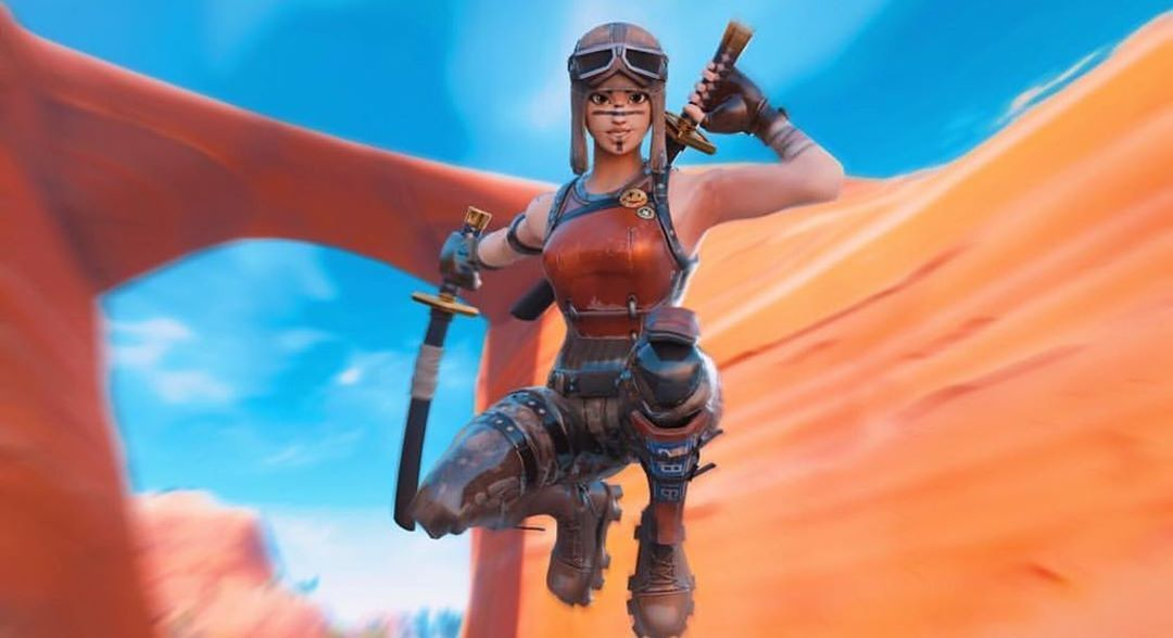 If We Hit 500 Followers By Sunday I Ll Have A Vbucks Giveaway So Follow Me Ur Squad And Shout Me Out Fort Fortnite Bilder Anime Kunst Madchen Bilder