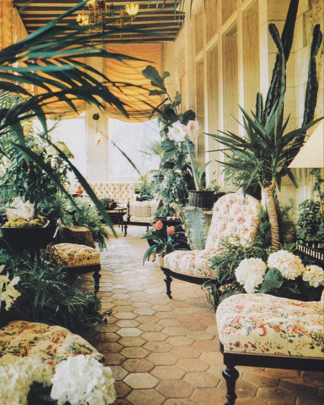 the winter garden of chateau gabriel yves saint laurent u0027s