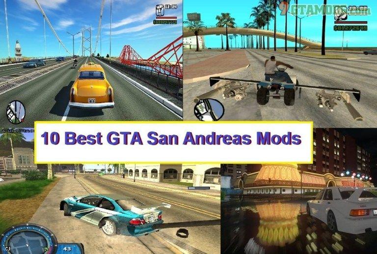 Top 10 Gta San Andreas Mods 9gtamods Com San Andreas San Gta
