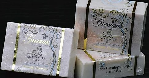 Review Grecian Soap Company Goat's Milk & Olive Oil Pink