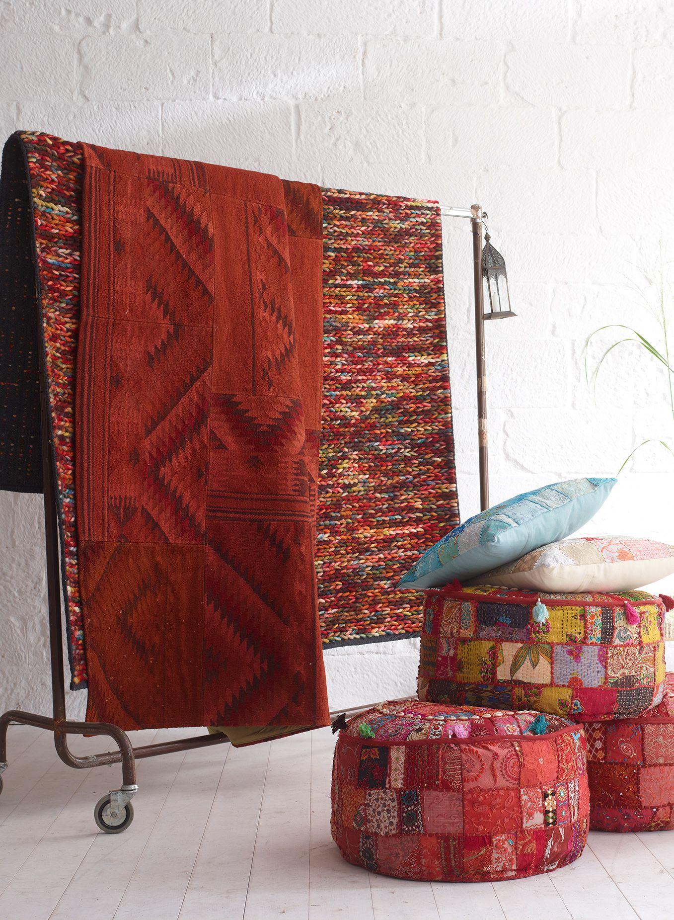 teppich bunt gestrickt wie ein pulli textil pinterest teppich bunt octopus m bel und. Black Bedroom Furniture Sets. Home Design Ideas