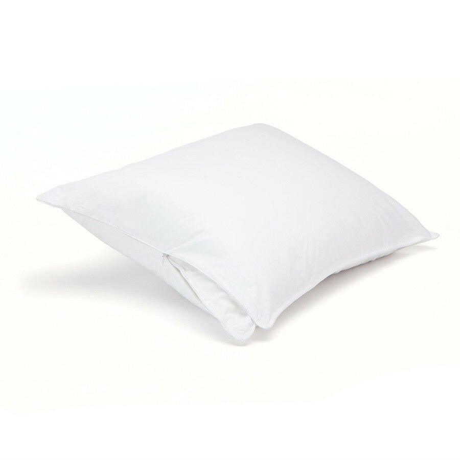 375 Tc Breathable Cotton Twill Pillow Protector Set Of 2 Downlite