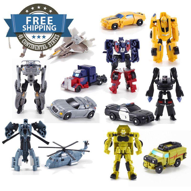 Optimus Prime//Bumblebee Prime Transformers toy model car plastic toys Kids gift