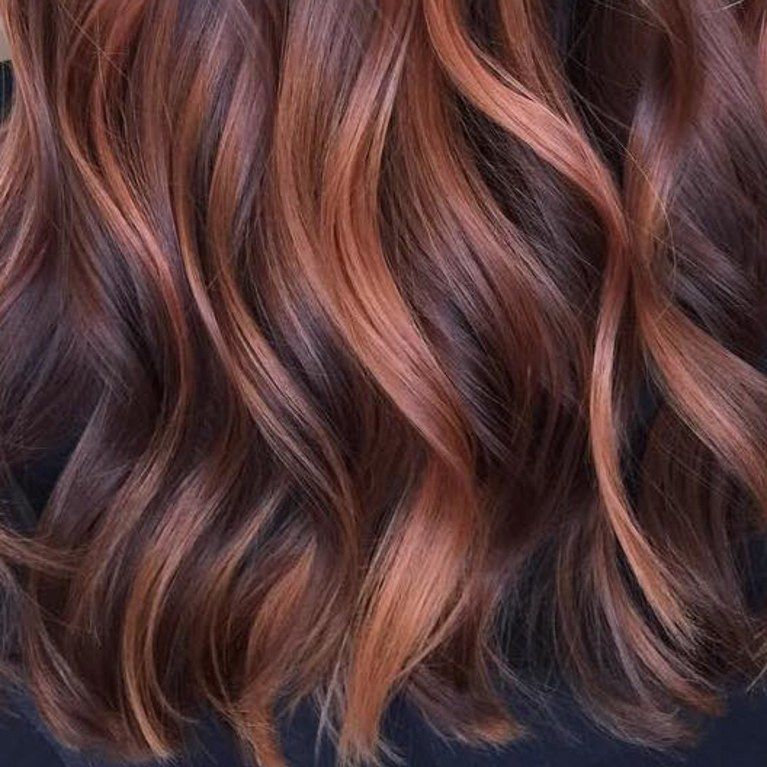 Here S How To Dye Your Hair Rose Gold Without Bleaching Your Whole