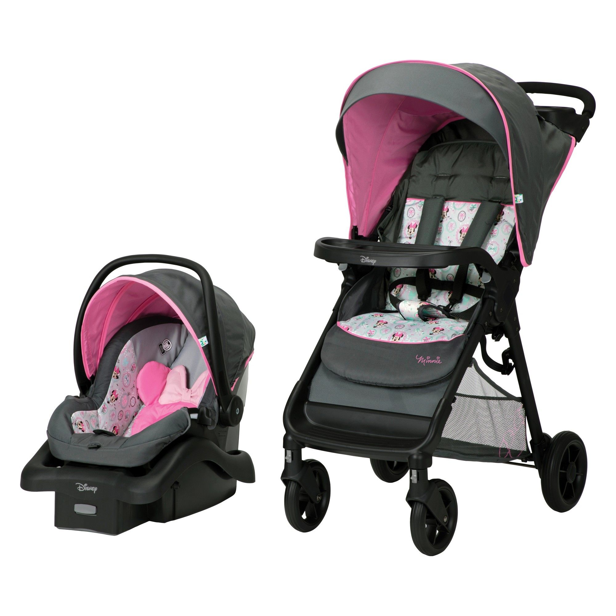 Disney Smooth Ride Travel System Minnie Happy Helpers