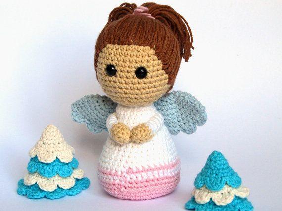 Amigurumi For Dummies Book : Little angel amigurumi crochet pattern pdf e book stuffed