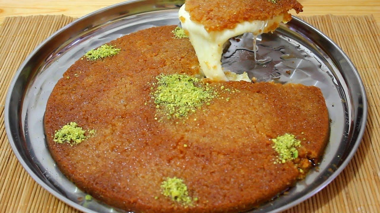 الكنافة النابلسية حضريها في مطبخك ولعائلتك خلال ساعة Konafa Nabulsih Ch Food Recipes Easy Meals