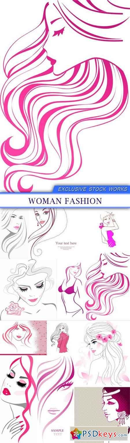 Fashion Girls Png Free Clip Art Clip Art Womens Fashion