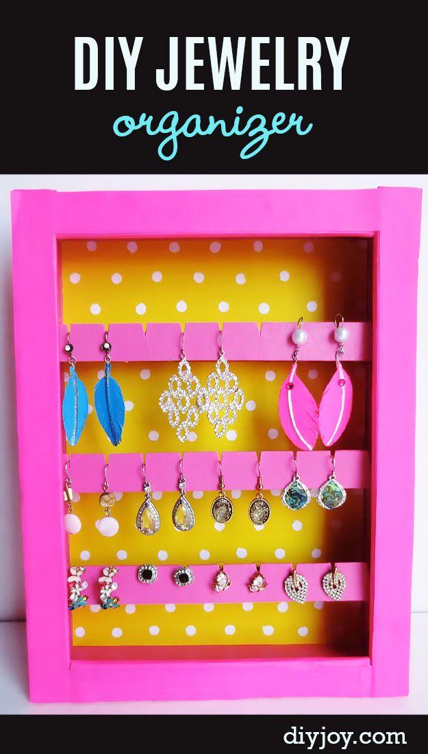 30 awesome diy storage ideas diy jewelry organizer storage ideas 30 awesome diy storage ideas solutioingenieria Choice Image