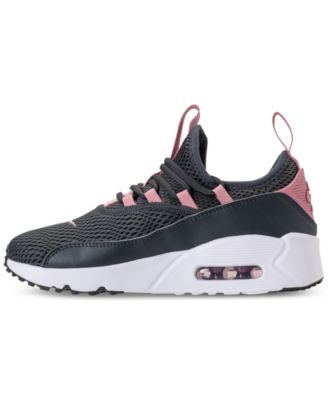 cb70cbb685b0d Nike Girls  Air Max 90 Ultra 2.0 Ease Casual Sneakers from Finish Line -  Black 5.5