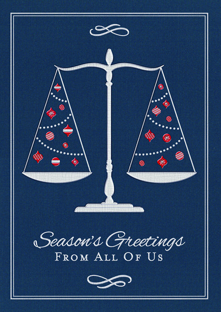 Pin By The Party Block On Lawyer Holiday Cards Business Christmas