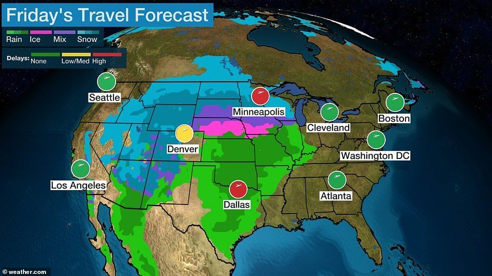 Pair Of Powerful Winter Storms Threaten Thanksgiving Travel Chaos Thanksgiving Travel Winter Storm Travel