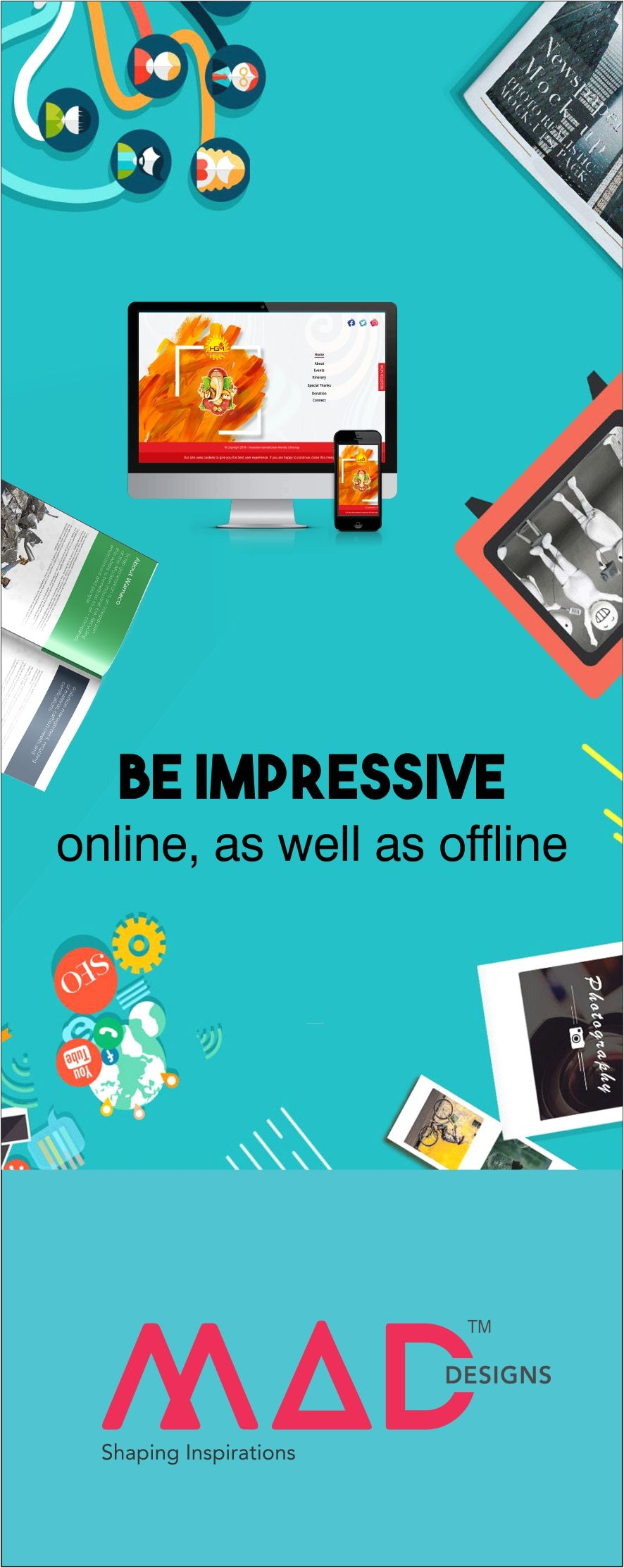 We help create impressive impressions, both online and