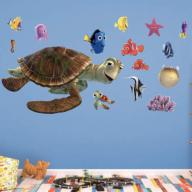 Charmant Finding Nemo Fan? Prove It! Put Your Passion On Display With A Giant Nemo