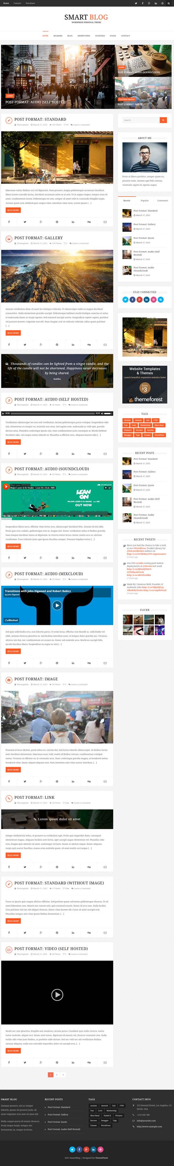 16 New Responsive Html5 Wordpress Themes Blog Themes Wordpress Wordpress Theme Responsive Wordpress Theme
