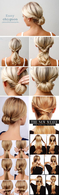 15 Penteados Passo A Passo Peinados Penteados Passo A