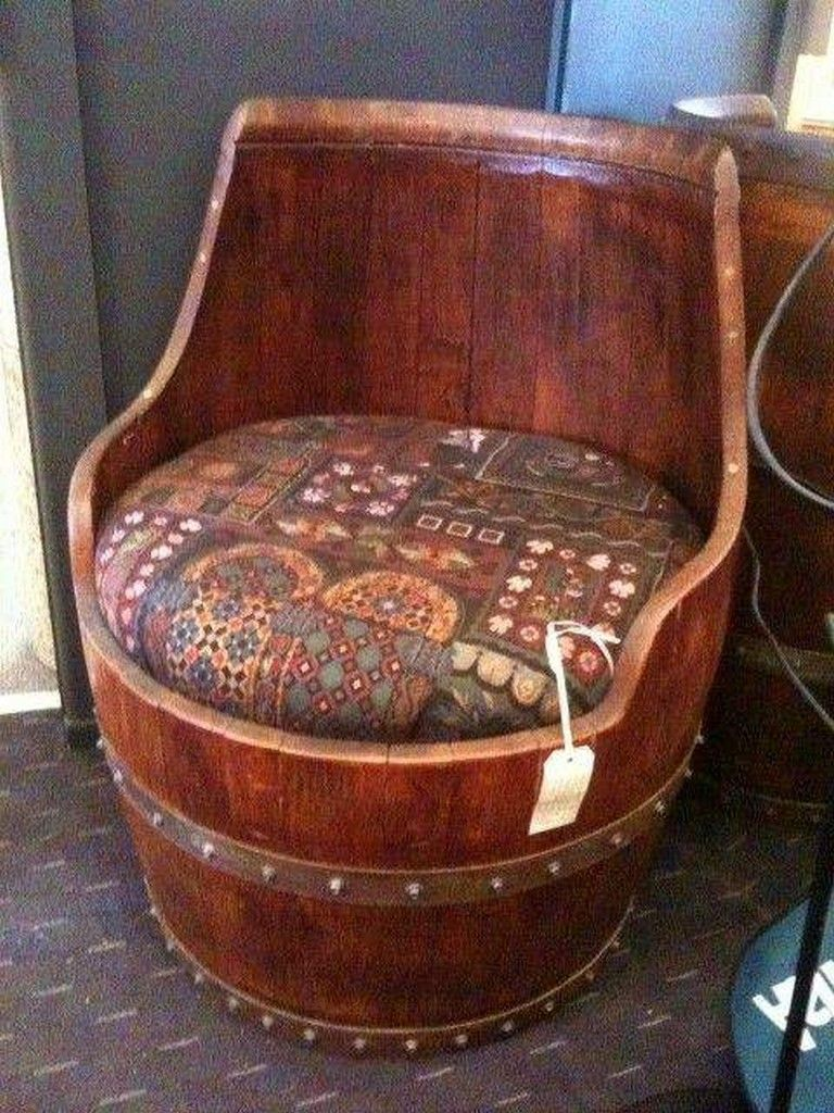 20 Exciting Barrel Furniture Ideas You Will Love Barrel Furniture Home Decor Barrel Decor