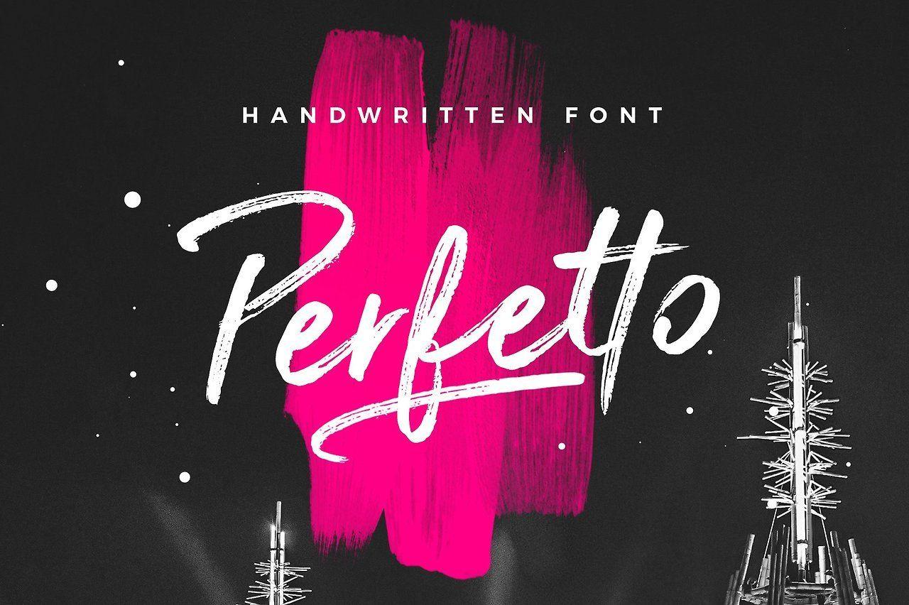 Perfetto Brush Font Perfetto ttf | Perfetto otf | Webfont