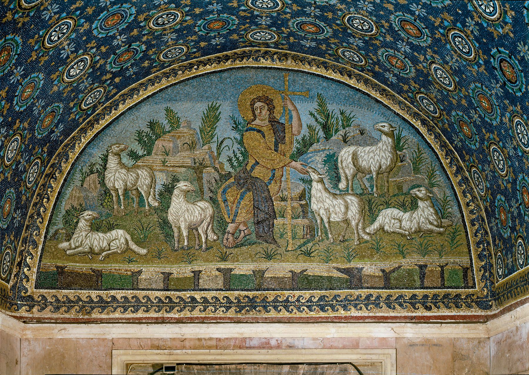 Good shepherd funeral home rome ga - The Good Shepherd Mosaic Mausoleum Of Galla Placida Ravenna 425 450