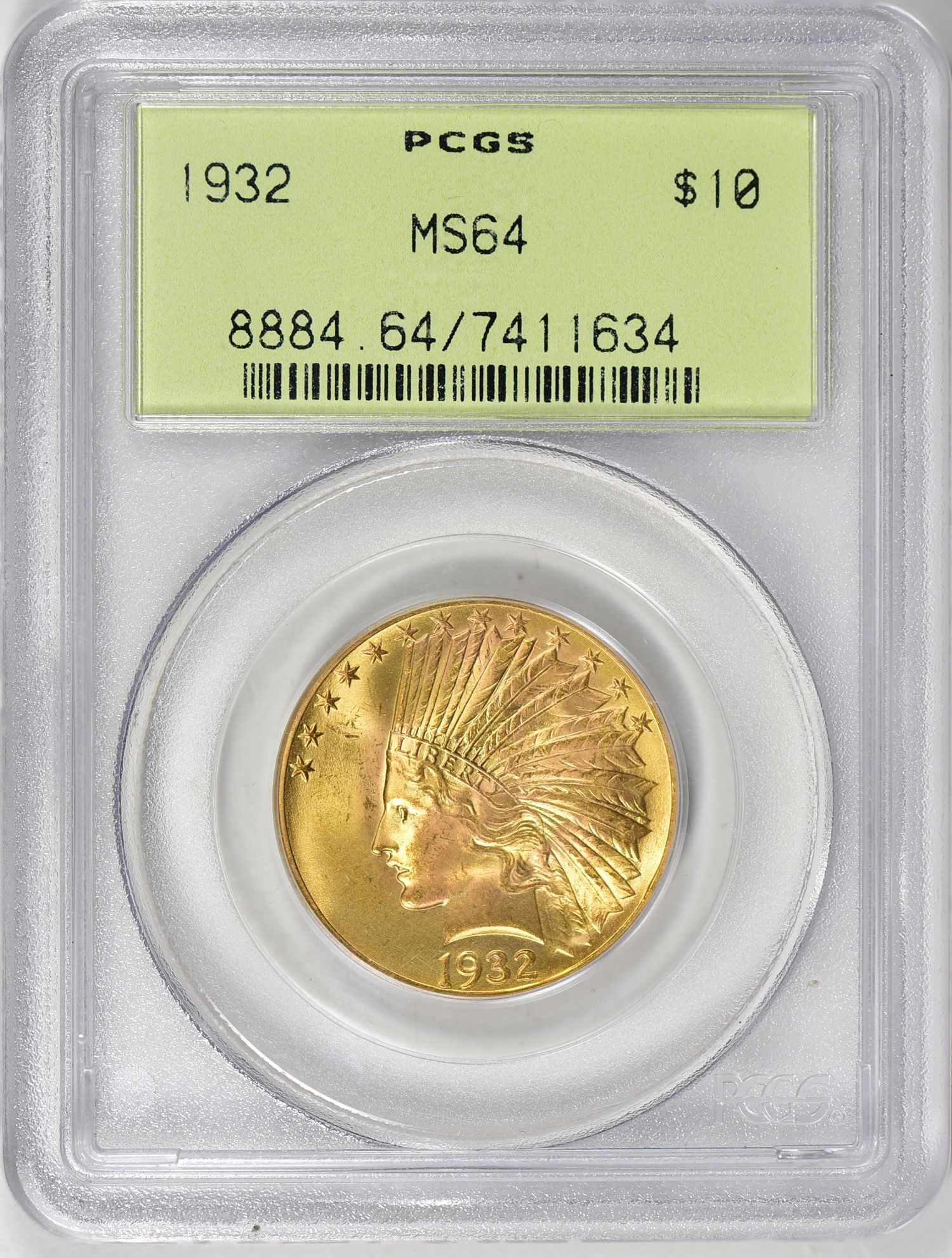 1932 Indian Gold Eagle Pcgs Ms 64 Ogh Goldeagles Indiangoldeagles Pcgs Eagle Goldeagle Tendollars Ten Cappedbustrightea Coin Auctions Coins Gold Coins