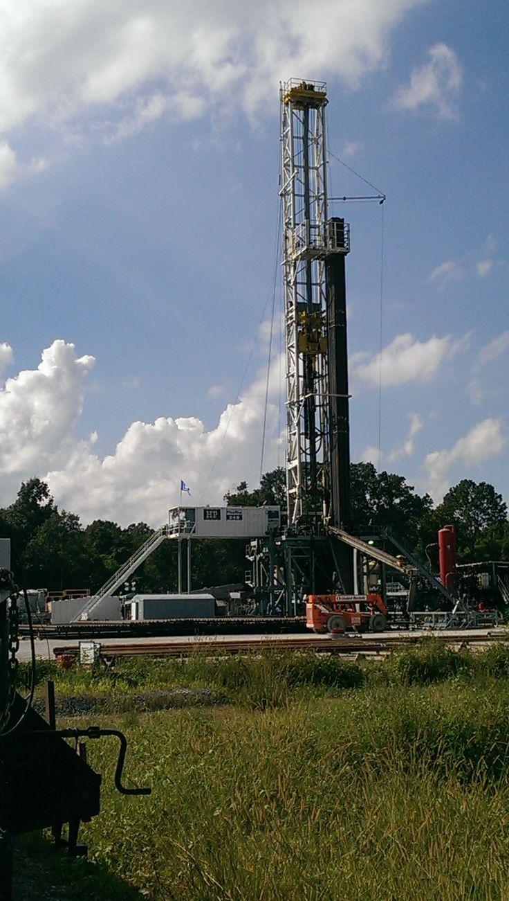 HP Flex rig in Wilkinson County MS Oilfield life, Oil