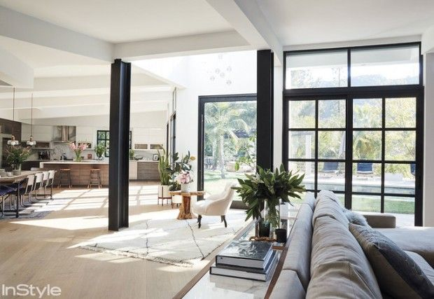 A casa da Lea Michele em Hollywood - Fashionismo