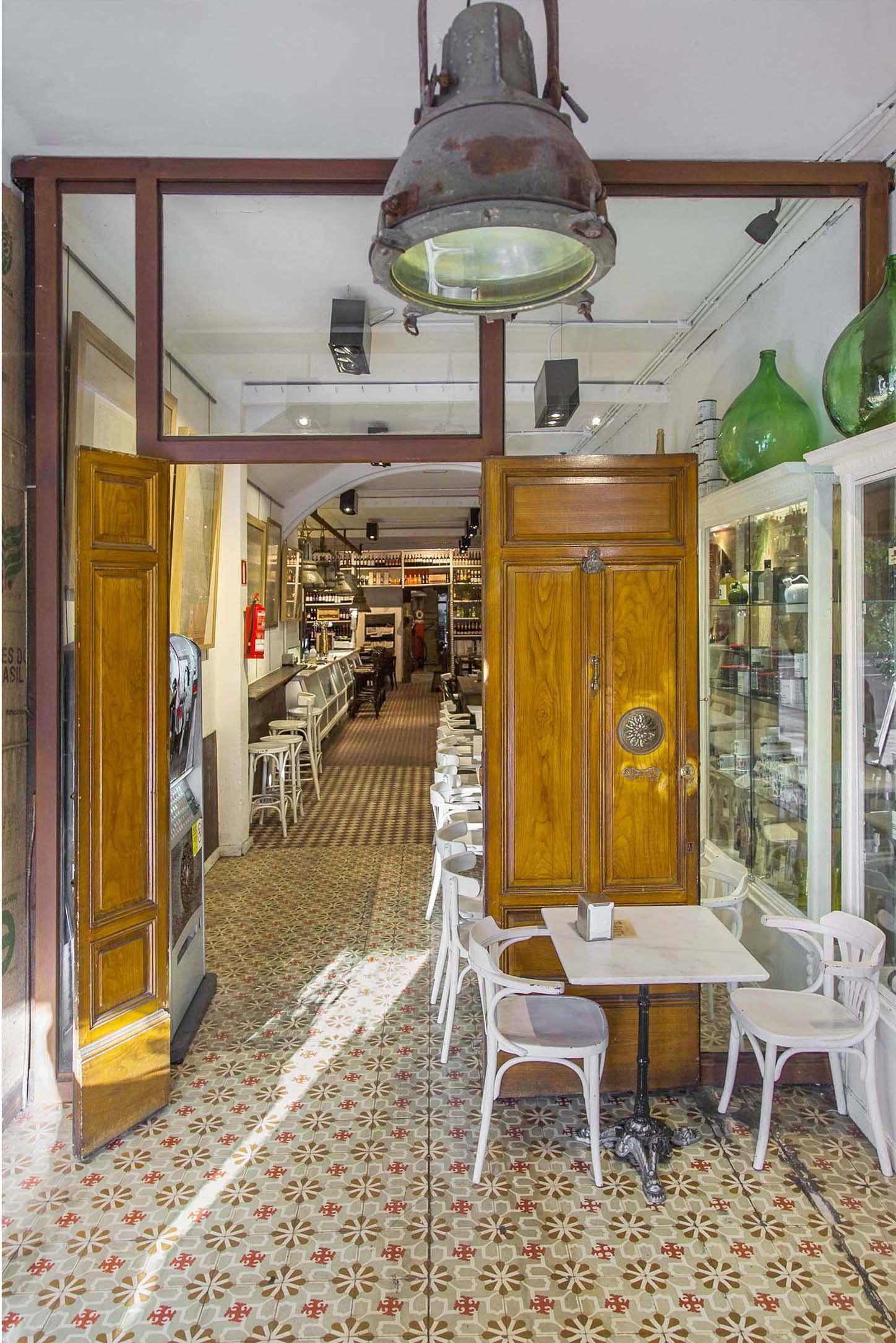 Suelos hidr ulicos restaurantes vintage espa a a coru a - Decoracion rustico vintage ...