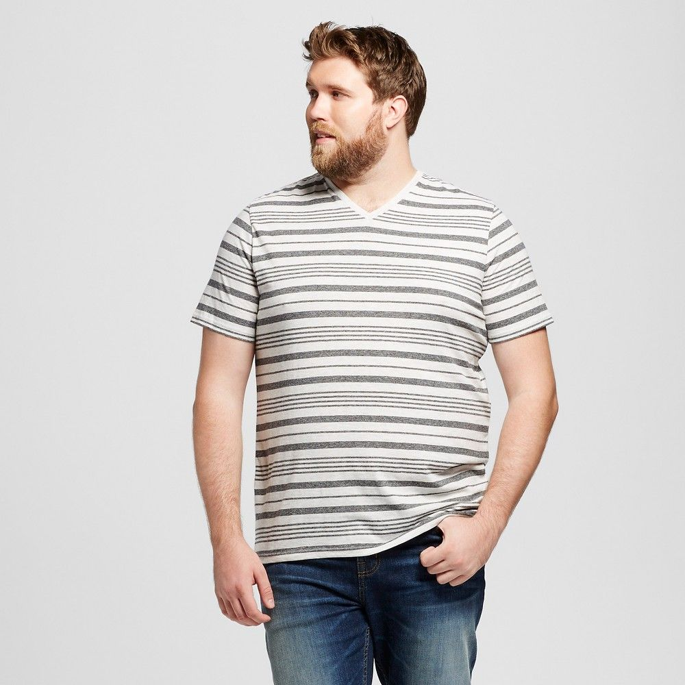 b773506d75d3 Men's Big & Tall V-Neck T-Shirt Casual Gray LT - Mossimo Supply Co., Size: Large  Tall, Cast Iron Gray