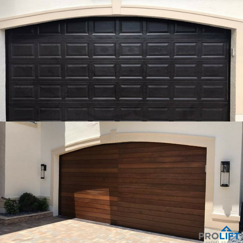 From Steel To Wood A Customized Garage Door Will Add Dollar Value And Gorgeous Curb Appeal To Your Home S E Garage Doors Garage Door Styles Garage Door Design