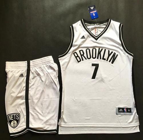 3427697e8 Nets  7 Jeremy Lin White A Set Stitched NBA Jersey