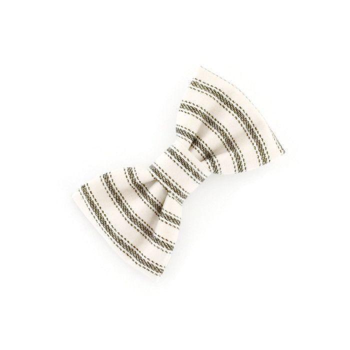 Pinstripe Buddy Bow Tie