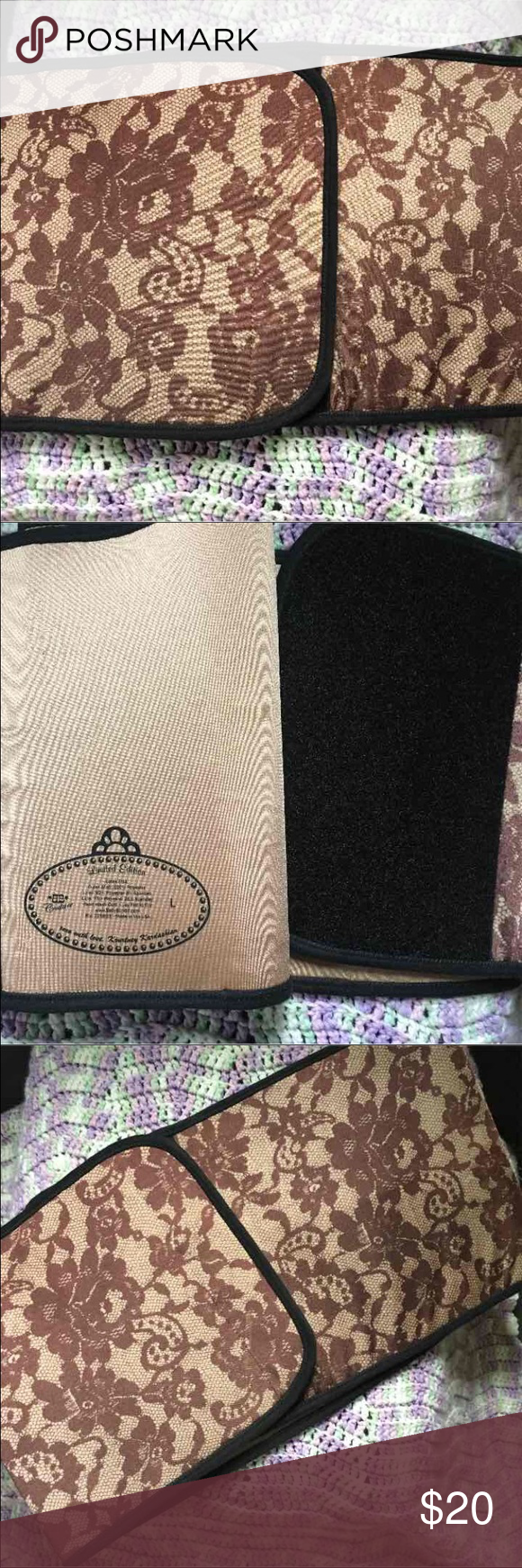 Limited edition kourtney kardashian belly bandit, black lace, x.