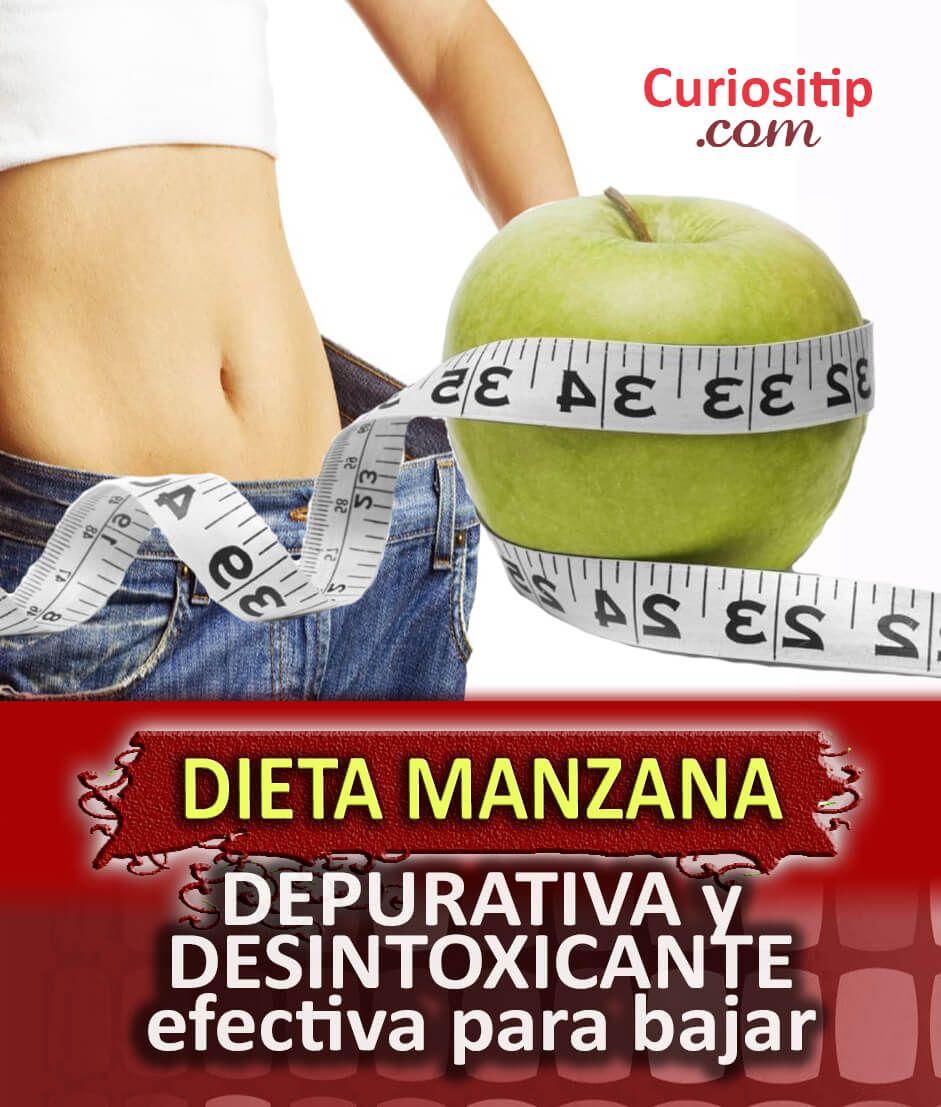 dieta de la manzana para rebajar el abdomen